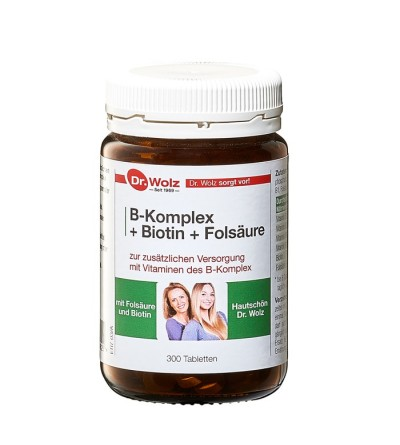 B-Komplex + Biotin + Folsäure