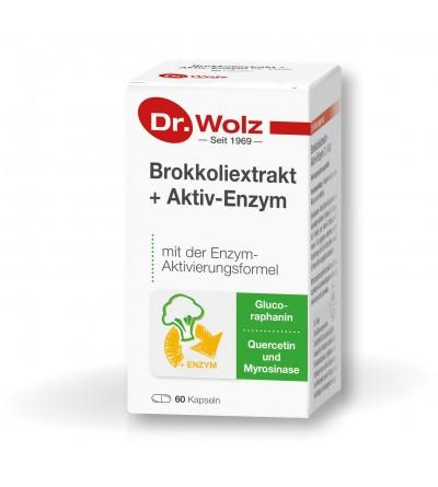Brokkoliextrakt + Aktiv-Enzym