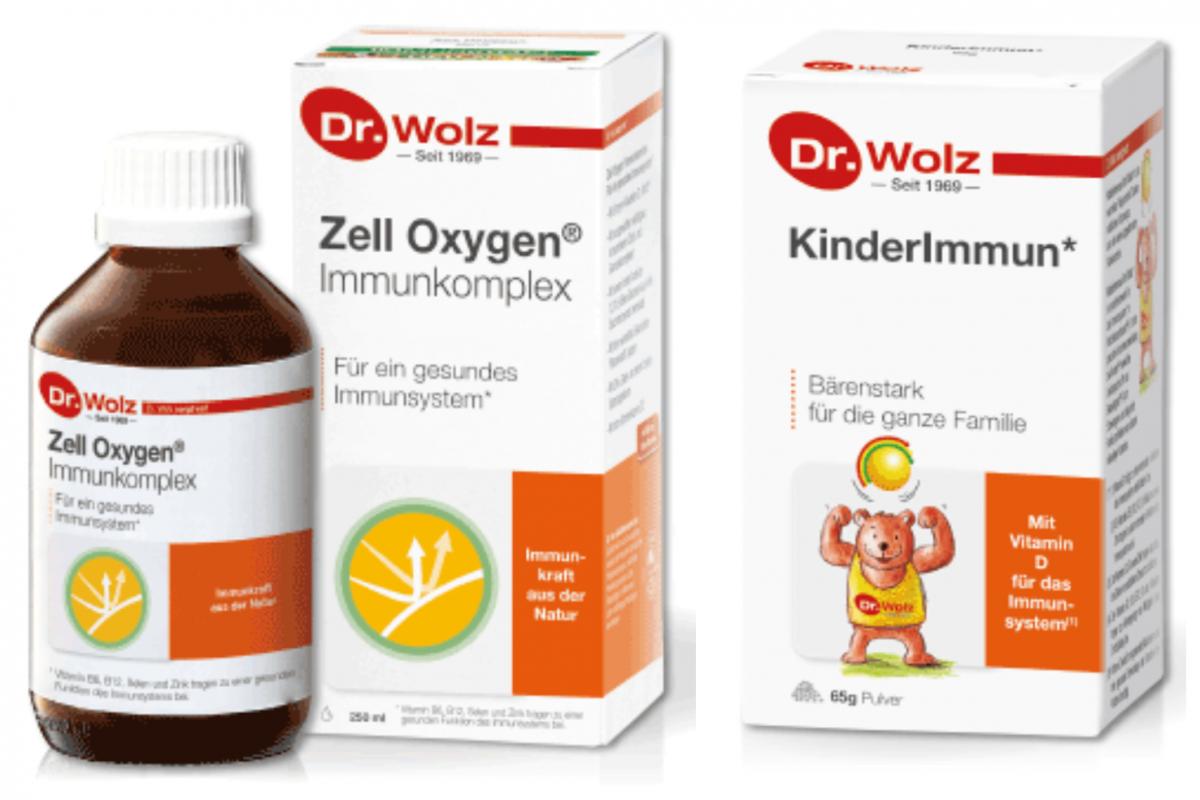 Nahrungsergänzung Dr.Wolz